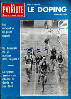 PATRIOTE ILLUSTRE (LE) no:23 06/06/1965