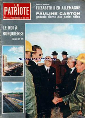 PATRIOTE ILLUSTRE (LE) no:22 30/05/1965