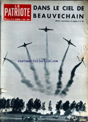 PATRIOTE ILLUSTRE (LE) no:27 03/07/1966