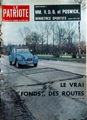 PATRIOTE ILLUSTRE (LE) no:17 24/04/1966