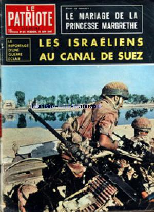 PATRIOTE ILLUSTRE (LE) no:25 18/06/1967