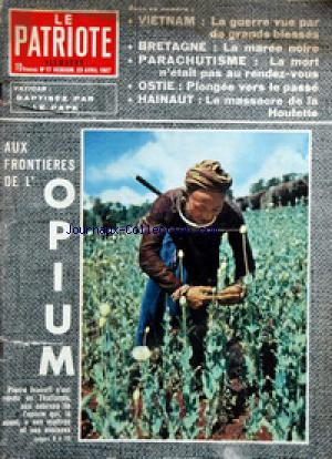 PATRIOTE ILLUSTRE (LE) no:17 23/04/1967