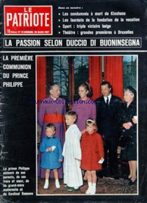 PATRIOTE ILLUSTRE (LE) no:13 26/03/1967