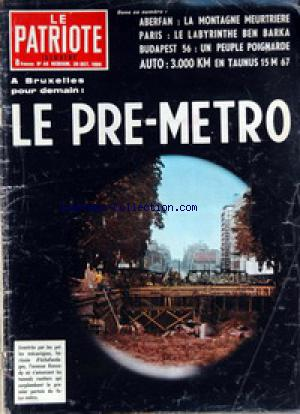 PATRIOTE ILLUSTRE (LE) no:44 30/10/1966