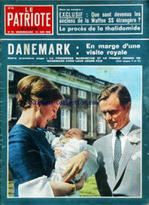 PATRIOTE ILLUSTRE (LE) no:25 23/06/1968