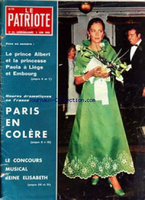 PATRIOTE ILLUSTRE (LE) no:22 02/06/1968