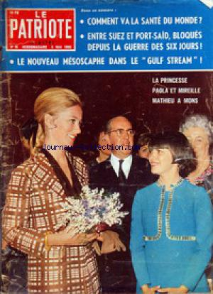 PATRIOTE ILLUSTRE (LE) no:18 05/05/1968