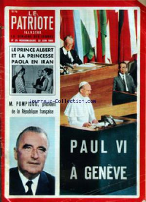 PATRIOTE ILLUSTRE (LE) no:25 22/06/1969