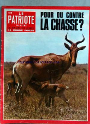 PATRIOTE ILLUSTRE (LE) no:46 15/11/1970