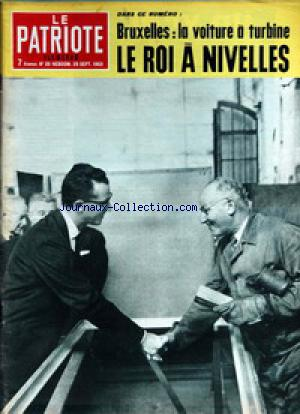 PATRIOTE ILLUSTRE (LE) no:39 29/09/1963