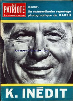 PATRIOTE ILLUSTRE (LE) no:28 14/07/1963