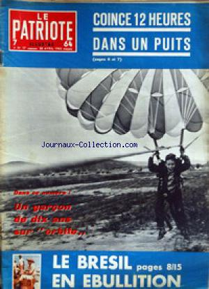 PATRIOTE ILLUSTRE (LE) no:17 28/04/1963