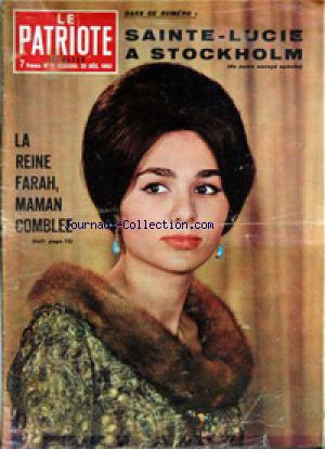 PATRIOTE ILLUSTRE (LE) no:51 22/12/1963