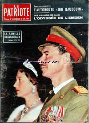 PATRIOTE ILLUSTRE (LE) no:46 15/11/1964