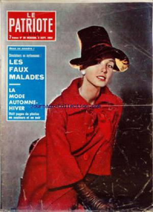 PATRIOTE ILLUSTRE (LE) no:36 06/09/1964