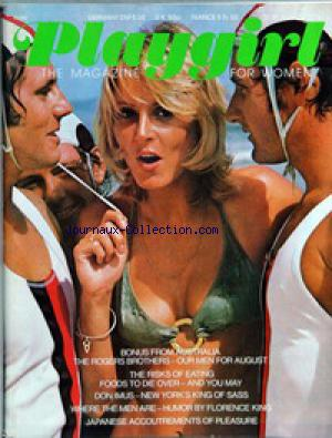 PLAYGIRL no: 01/08/1974