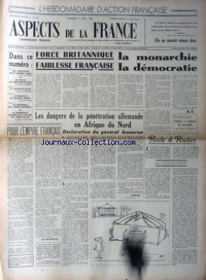 ASPECTS DE LA FRANCE no:343 08/04/1955