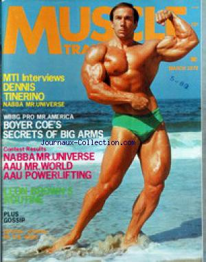MUSCLE TRAINING ILLUSTRATED no: 01/03/1972
