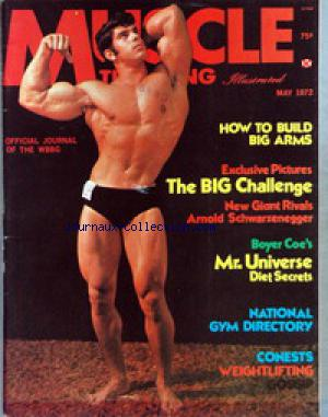 MUSCLE TRAINING ILLUSTRATED no: 01/05/1972