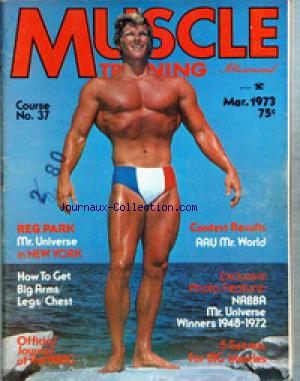 MUSCLE TRAINING ILLUSTRATED no: 01/03/1973
