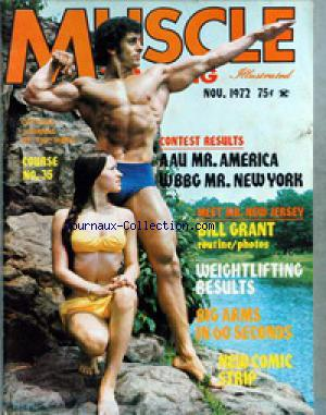 MUSCLE TRAINING ILLUSTRATED no: 01/11/1972