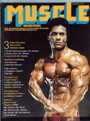 MUSCLE BUILDER POWER no: 01/03/1971