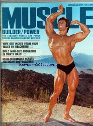MUSCLE BUILDER POWER no: 01/10/1970