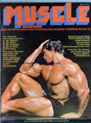 MUSCLE BUILDER POWER no: 01/04/1971