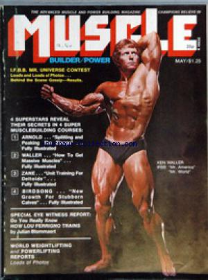 MUSCLE BUILDER POWER no: 01/05/1975