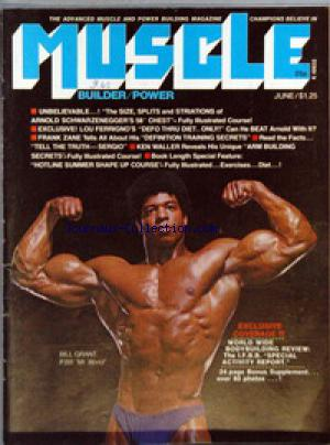 MUSCLE BUILDER POWER no: 01/06/1975