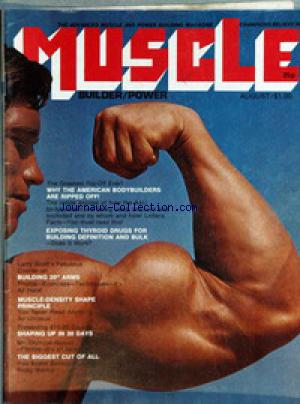 MUSCLE BUILDER POWER no: 01/08/1973