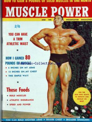 MUSCLE POWER no: 01/06/1971