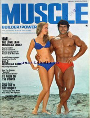 MUSCLE BUILDER POWER no: 01/02/1971