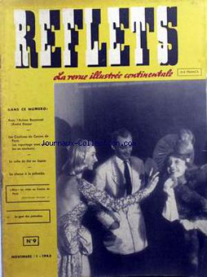 REFLETS / LA REVUE ILLUSTREE CONTINENTALE no:9 01/11/1943