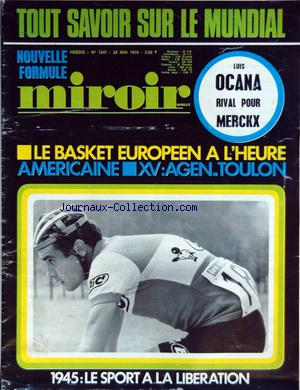 MIROIR SPRINT no:1247 26/05/1970