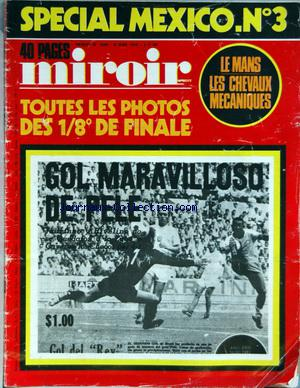 MIROIR sprint no:1249 09/06/1970