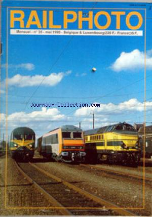RAILPHOTO no:35 01/05/1990
