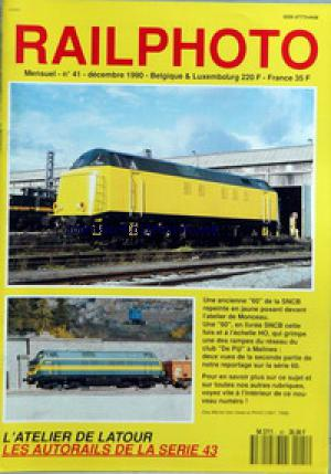 RAILPHOTO no:41 01/12/1990