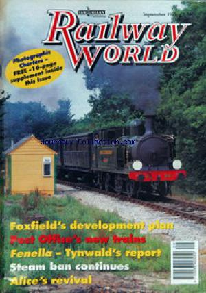 RAILWAY WORLD no: 01/09/1995