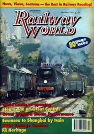 RAILWAY WORLD no: 01/10/1995