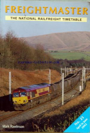 FREIGHTMASTER no:25 01/04/2002