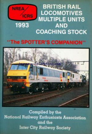 BRITISH RAIL no: 01/01/1993
