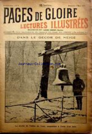 PAGES DE GLOIRE no:7 04/03/1917