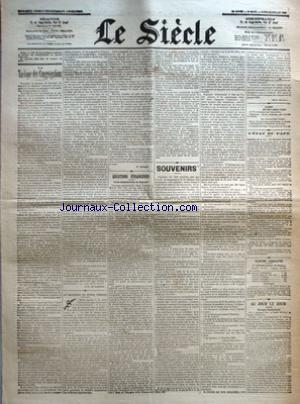 SIECLE (LE) no: 20/07/1903