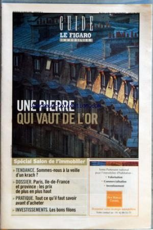 FIGARO IMMOBILIER (LE) no: 30/03/2005