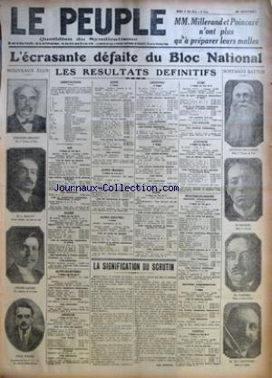 PEUPLE (LE) no:1222 13/05/1924