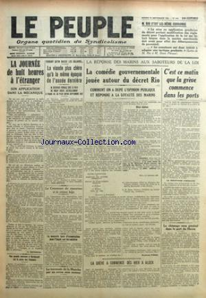 PEUPLE (LE) no:619 16/09/1922