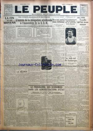 PEUPLE (LE) no:2071 11/09/1926