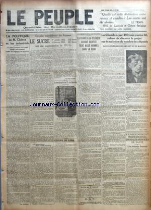 PEUPLE (LE) no:799 15/03/1923