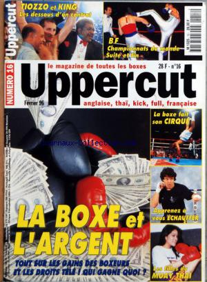 UPPERCUT no:16 01/02/1996
